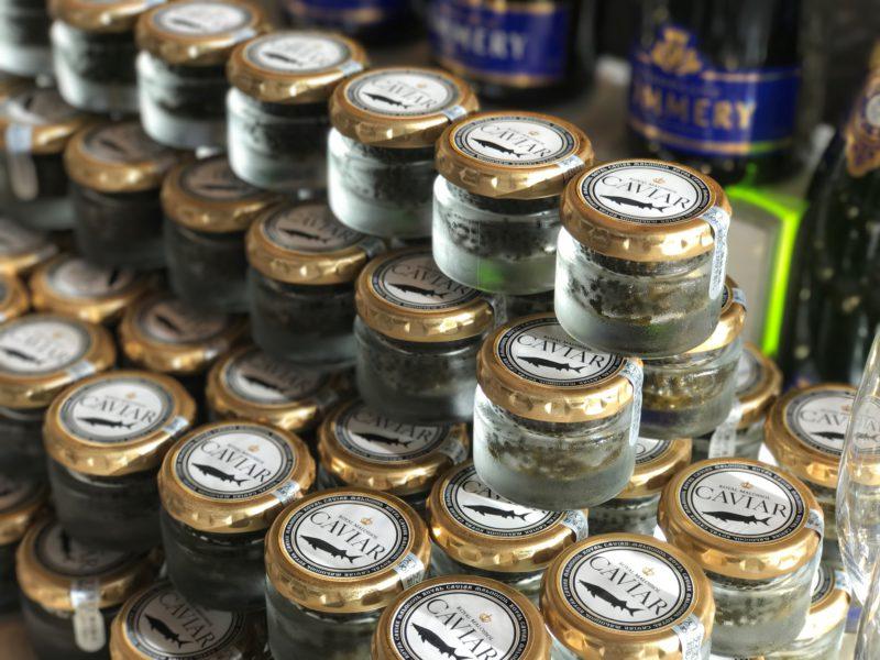 12/26~1/8 キャビアとシャンパンを楽しむ【Caviar et Champagne】開催!