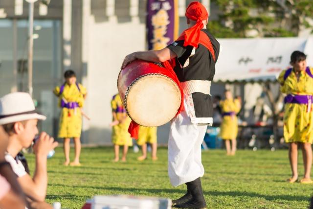 【那覇イベント】1万人のエイサー踊り隊