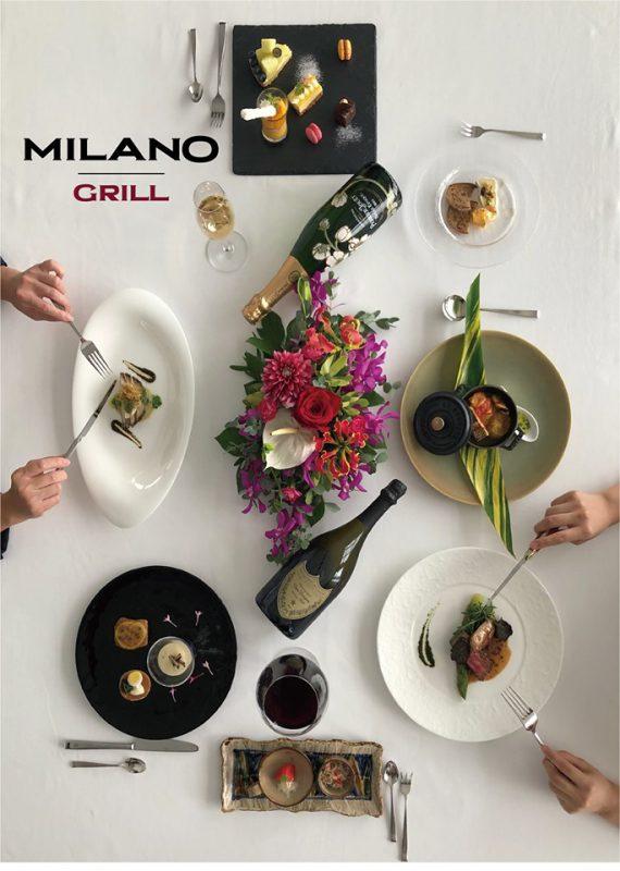 期間限定コース~ Regalo 贈り物 ~、ついにMILANO|GRILLで販売開始。